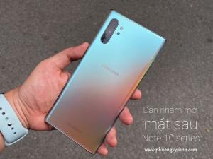 Dán mặt sau mờ nhám GOR Galaxy Note 10 Series